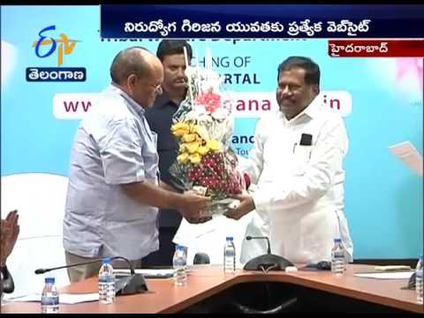 ST Job Portal Website | Launched by Minister Chandulal at Hyderabad