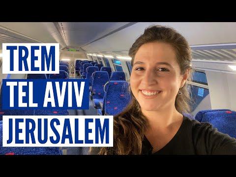 TREM RÁPIDO JERUSALEM - TEL AVIV! Como funciona e quanto custa? (eng sub)