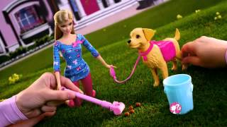 Barbie Potty Training Taffy Doll -  Fashion Doll and Pet Playset