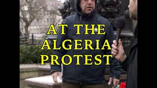 Ryan Long at The Algerian Government Protests