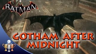Batman Arkham Knight - Gotham After Midnight - Glide for 400 meters less than 10 meters from ground