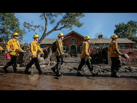 'Time running out' in search for California mudslide missing