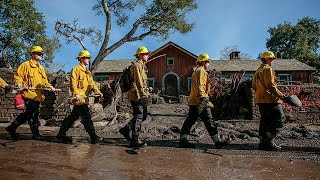 'Time running out' in search for California mudslide missing thumbnail