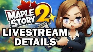 MapleStory 2 : CLOSED BETA LIVESTREAM