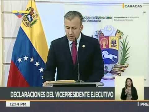 Vicepresidente El Aissami: Operación Manos de Papel recuperó Bs 12 ...