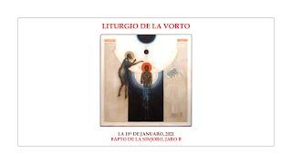 La Liturgio de la Vorto — Bapto de la Sinjoro, jaro B — 10.01.2021