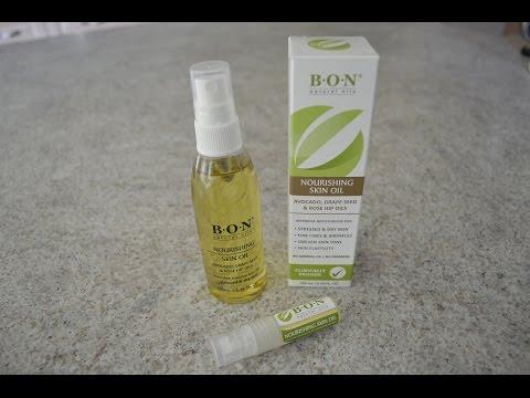B.O.N Skincare Nourishing Skin Oil: What I Say About Stuff