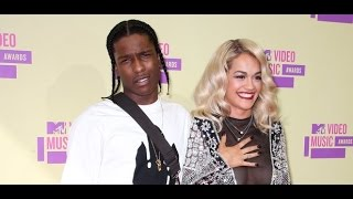 ASAP Rocky Disses Rita Ora - Said She Gave Him Oral Sex