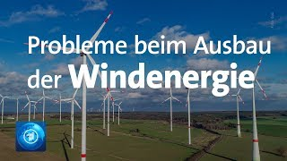 Ausbau der Windenergie in Deutschland stockt
