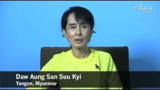 Aung San Suu Kyi Receives Asia Society's Global Vision Award