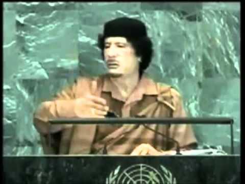 Muammar El Gathafi - Discours du Frère Guide aupres l'Assemblée générale des Nations Unies
