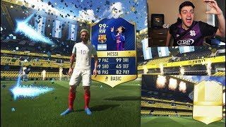 99 TOTS MESSI + 5 TOTS & A 90+ LEGEND IN THE SAME TOP 100 FUT WEEKLY REWARDS!!!