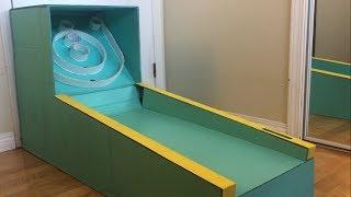 DIY Cardboard Skee-Ball Machine