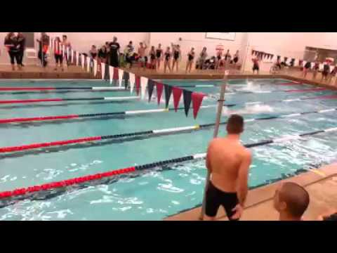 SUNY Maritime Swimming 200FR Relay