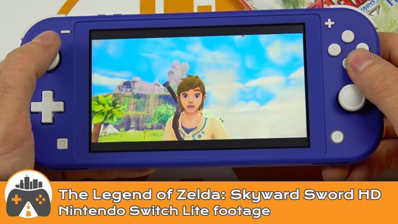 [The Legend of Zelda: Skyward Sword HD] Switch Lite footage
