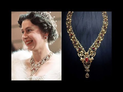Las maravillosas joyas de la reina Isabel II. Sus collares.