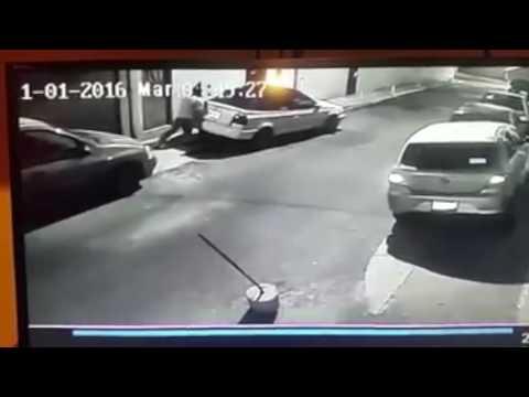 Robo de vehículo en la Magdalena Contreras