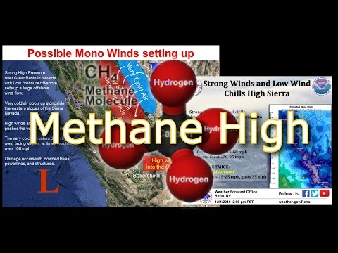 Pacific Blob Shows Methane Release Weather Pattern