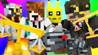 Minecraft Mini-Game : DO NOT LAUGH! (CHAINSAW BANDITO, ROSS FREAKIN DIES) w/ Facecam