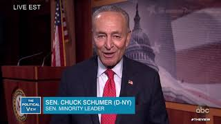 Sen. Schumer on Impeachment Trial, Previous Comments on Clinton Trial | The View
