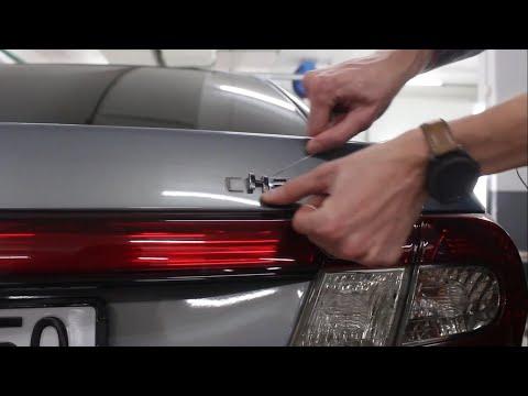 Удаление шильдиков на авто своими руками