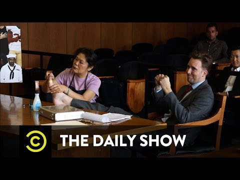 The Daily Show - Outrage Court: Patriotism vs. Protest