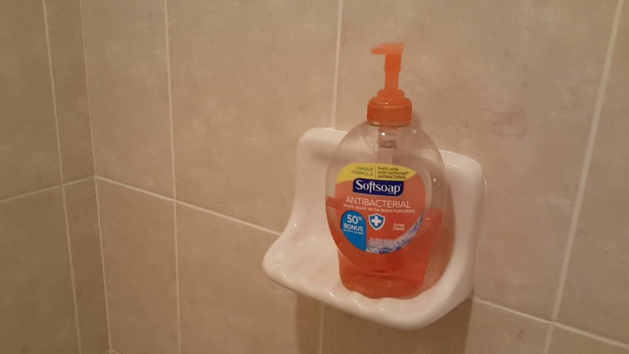 Hack For SHOWER CLEANING   Keep A Shower Clean For Months No Scrubbing No  Soap Scum