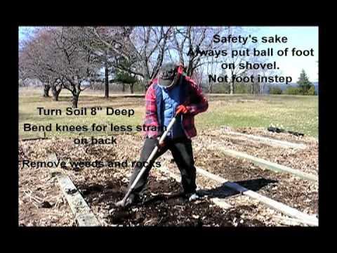 Vegetable Garden Soil Preparation - Youtube