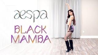 aespa - 'Black Mamba' Dance Cover | Ellen and Brian