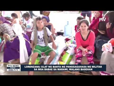 Lorenzana: Ulat ng banta ng panggagahasa ng militar sa mga babae sa Marawi, walang basehan