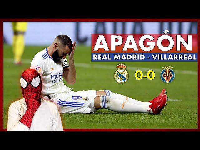 😱REAL MADRID 0-0 VILLAREAL🔥 EL VILLAREAL FRENA AL REAL MADRID CON EL TIKI TAKI