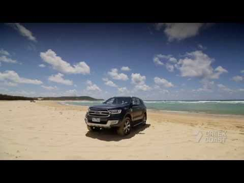 Creek to Coast - The New Ford Everest on Fraser Island