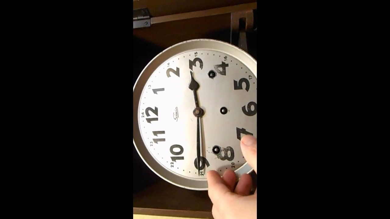 d568707f5db1 RELOJ DE PARED MELODÍA WESTMINSTER REPASAR - YouTube