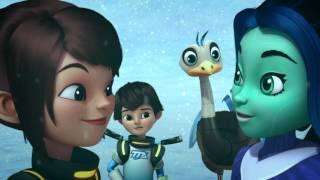 Майлз с другой планеты - Исследовательская экспедиция/ Снежный шар (Сезон 1 Серия 29)   Disney