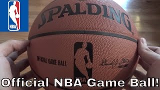 Spalding Official Game Ball Review (Current Version*)- HD