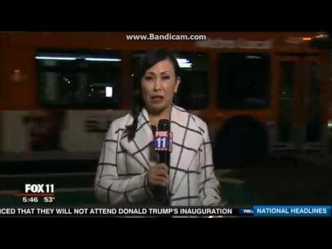 KTTV Fox 11 Weekend News open January 15, 2017
