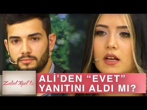 Zuhal Topal'la 156. Bölüm (HD) | Güzel Gamze Herkese Hayır Diyen Ali'den Evet Cevabını Alabildi mi?