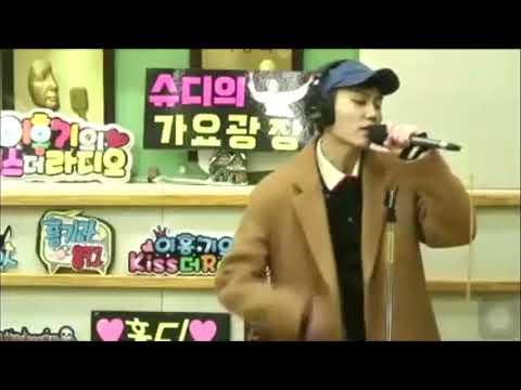 """BTOB Jung ilhoon """"she's gone"""" hongki radio"""