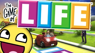 MAKE THE MOST MONEY (HILARIOUS BOARD GAME SUNDAY) - THE GAME OF LIFE