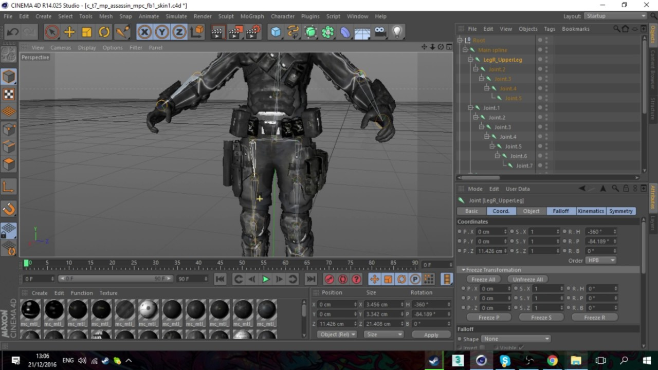 CINEMA 4D RIGGING TUTORIAL (HELPFULL FOR 3D ANIMATIONS AND CSGO ANIMATIONS)