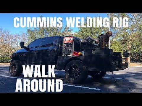 Cummins Welding Rig Walk Around