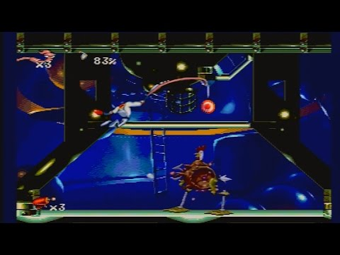 Earthworm Jim: Special Edition - Boss Rush