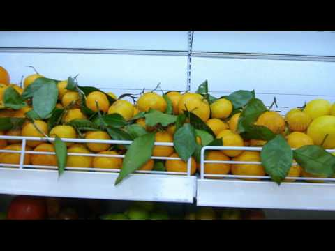 Fresh organic fruits from farmers to supermarkets on the shelves. healthy eating