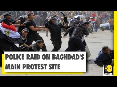 Iraq Protests: Security Forces Fire Live Rounds At Protesters | WION | World News