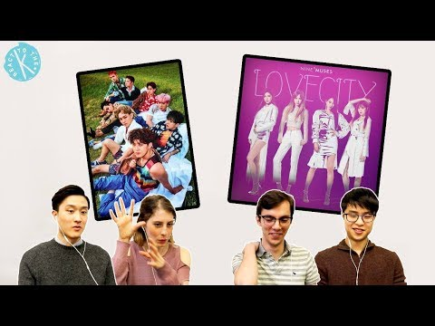 Ep.6 (Part 1) Guest Classical Musicians React to EXO and 9Muses