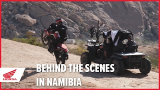 New 2020 Africa Twin - Behind The Scenes In Namibia