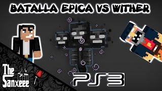 MINECRAFT PLAYSTATION 3 | INVOCACION Y BATALLA EPICA VS WITHER 1.12
