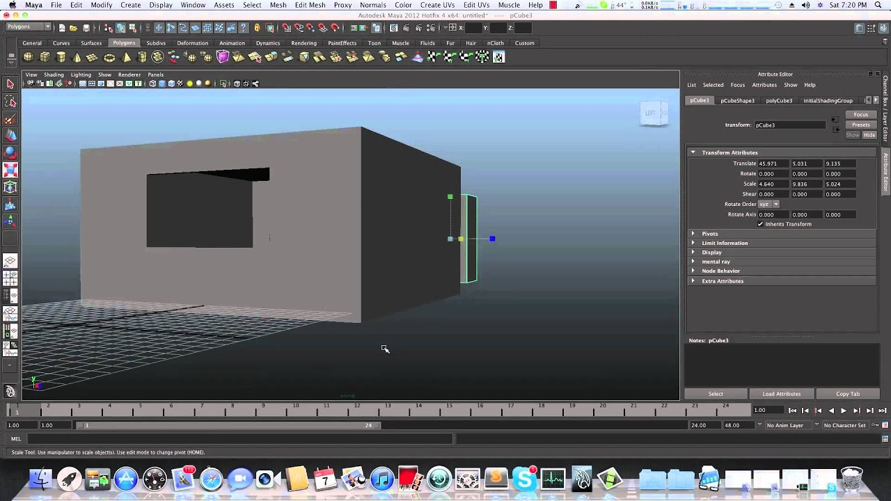 Maya Modeling Tutorial Modeling A Bedroom Part 1 Youtube