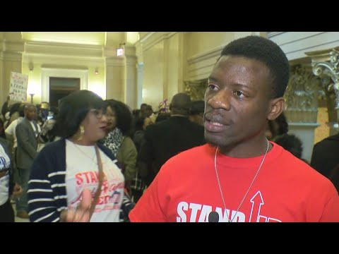 Liberian Immigrants Hold Rally At State Capitol