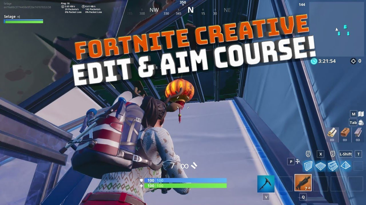Creative Mode Shotgun Aim and Edit Courses! - Fortnite ...